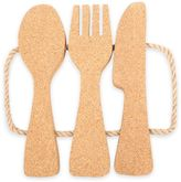 Thirstystone Cork Utensils-Shaped Trivet