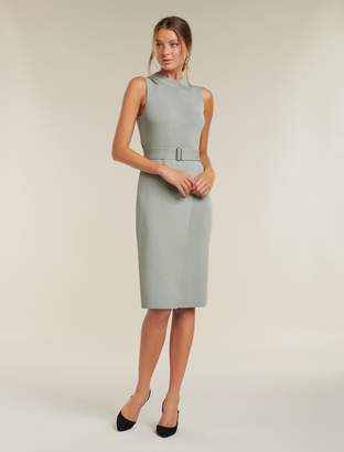 Ever New Sophia Belted Midi Knitted Dress
