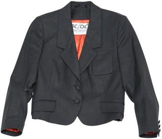 JC de CASTELBAJAC Anthracite Wool Jackets