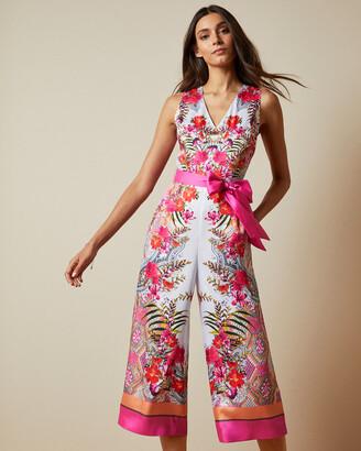 Ted Baker SOLANA Samba printed jumpsuit