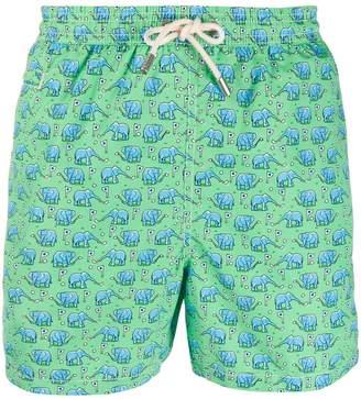MC2 Saint Barth Golf Elephant swim shorts