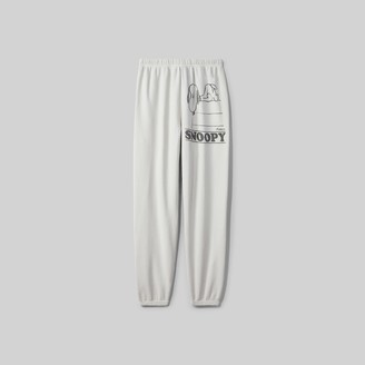 Marc Jacobs Peanuts X The Gym Pant With Snoopy