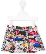 Kenzo Dancing Cactus printed skirt