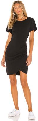 Pam & Gela T-Shirt Dress With Wrap Skirt