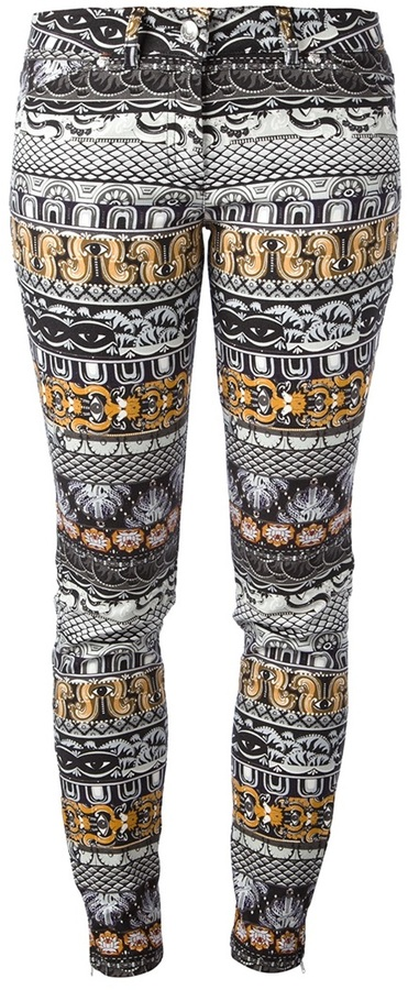 Kenzo 'Eye' patterned trouser