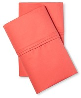 Threshold Performance 400 Thread Count Pillowcase Set Coral (King