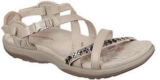 Skechers Adjustable Slingback Sandals - Reggae Slim