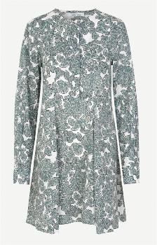 Samsoe & Samsoe Karlene Shirt Dress - Tapestry - Size S (UK 10-12)
