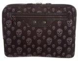 Alexander McQueen Skull Print Laptop Case
