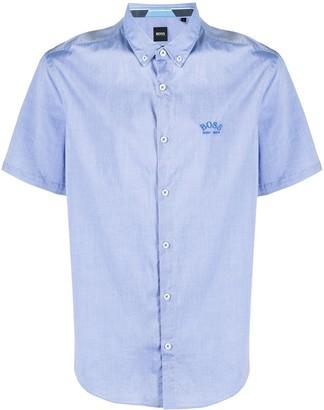 HUGO BOSS Button-Down Collar Shortsleeved Shirt