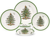 Spode Christmas Tree 5 Piece Place Setting, Service for 1