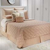JLO by Jennifer Lopez bedding collection ember glow quilted coverlet