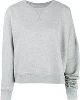 MM6 MAISON MARGIELA asymmetric sweatshirt - women - Cotton - XS