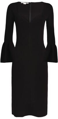 Stella McCartney Compact Knit Midi Dress