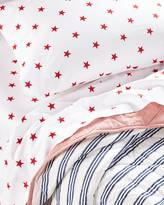 Serena & Lily Red Star Sheet Set