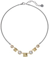 Majorica Why Not? Two-Tone Necklace