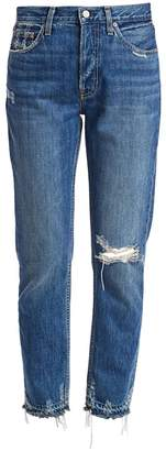 Trave Constance High-Rise Distressed Jeans
