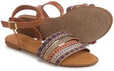 Bamboo Grayson Embroidered Sandals (For Women)