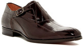 Mezlan Orleans Single Monk Strap Eel Skin Loafer