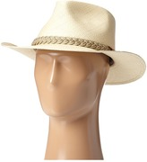 Scala Panama Outback Hat with Braided Jute Band