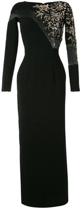 Saiid Kobeisy Embellished Maxi Dress