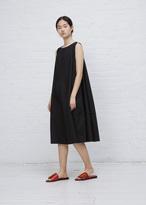Wunderkind black cutout shoulder dress