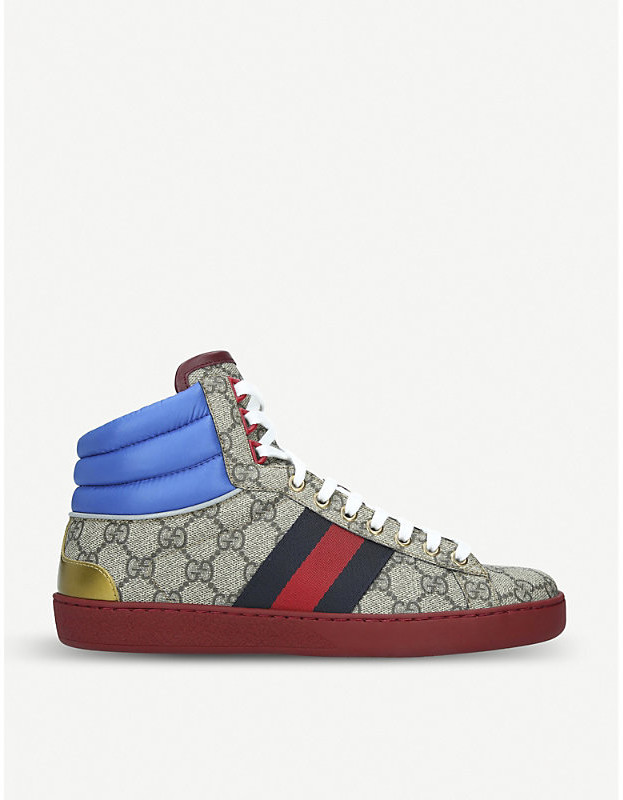 75852f4f5 Gucci Beige Trainers For Men - ShopStyle UK