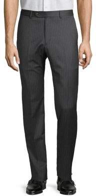 Tommy Hilfiger Pinstripe Wool-Blend Suit Separate Pants