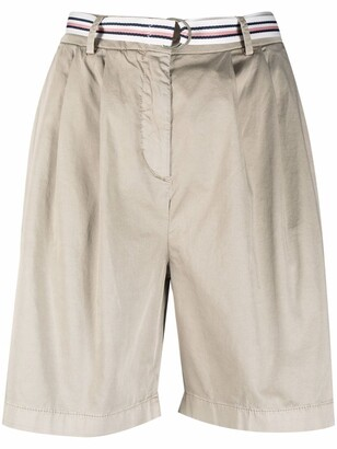 Relaxed Fit Chino Shorts