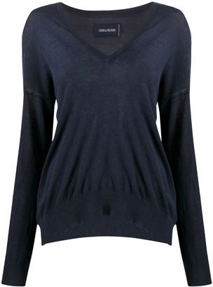 Zadig & Voltaire V-neck jumper