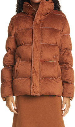 STAUD Ace Stand Collar Puffer Coat