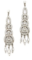 Ben-Amun Crystal Circular Drop Earrings
