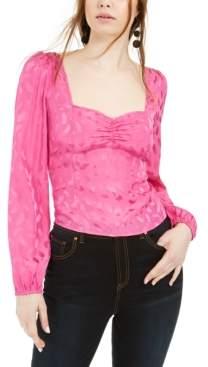 Leyden Long-Sleeve Sweetheart Top