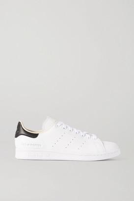 adidas + Net-a-porter Stan Smith Vegan Leather Sneakers - White