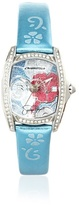Hello Kitty CT.7094SS-12 Stainless Steel Light Blue Leather Watch