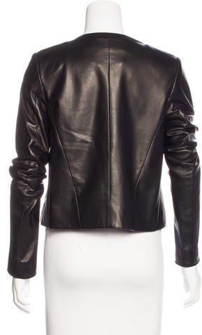 Jason Wu Leather Structured Jacket
