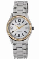 Edox Women's 70072 318TD A Les Genevez Diamond Date Watch
