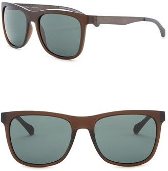 BOSS 55mm Square Sunglasses