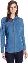 Pendleton Women's Denim Shirt, Indigo Denim