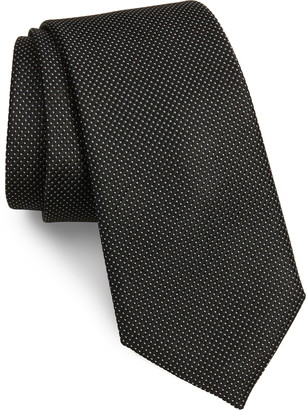 Nordstrom Hailey Solid Silk Tie