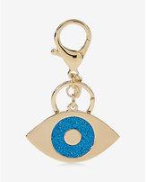 Express glitter evil eye keychain