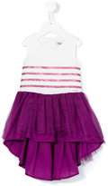 Junior Gaultier sleeveless dress - kids - Cotton/Polyamide/Polyester - 24 mth