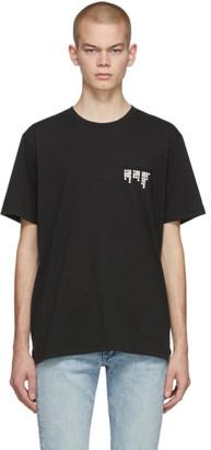 Rag & Bone Black Morse Code T-Shirt