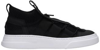 Bruno Bordese Sneakers In Black Tech/synthetic