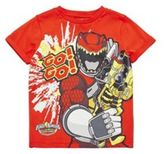 Character Saban Power Rangers Dino Super Charge T-Shirt, Kids Unisex