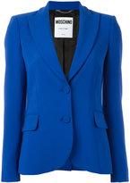 Moschino peaked lapel blazer - women - Polyester/Rayon/Triacetate - 42