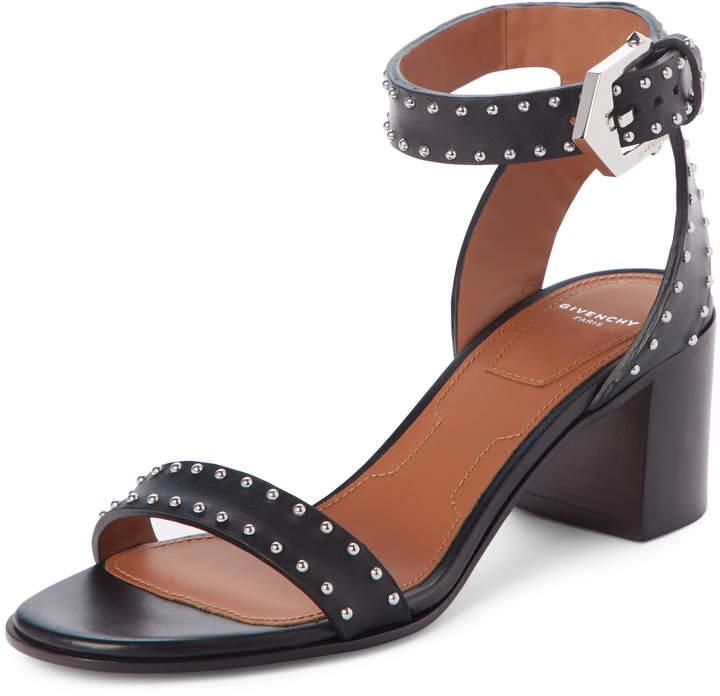 Givenchy Studded Ankle Strap Sandal
