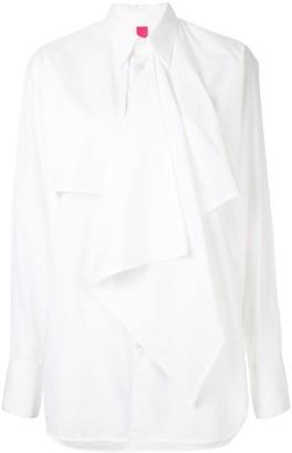 Y's asymmetric longline shirt