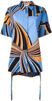 Emilio Pucci printed shirt - women - Cotton/Spandex/Elastane - 40