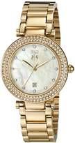 Jivago Women's JV5311 Parure Analog Display Quartz Gold Watch